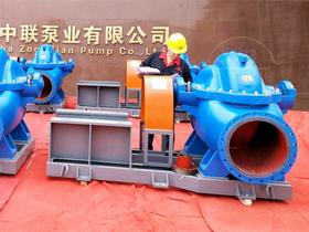 GS型高效节能单级双吸中开泵