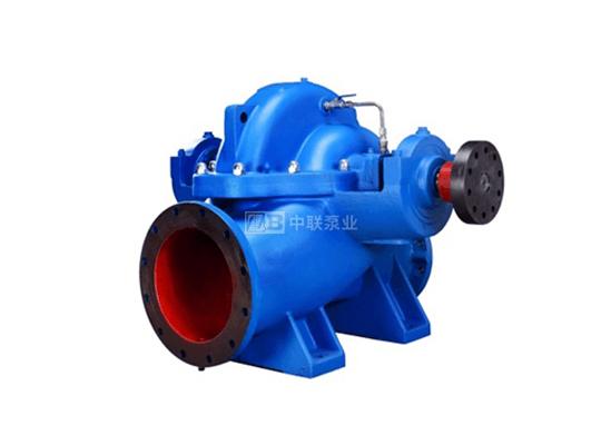 300S32卧式水平单级双吸离心泵-卧式中开泵