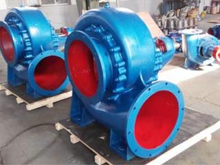 HW型卧式混流泵
