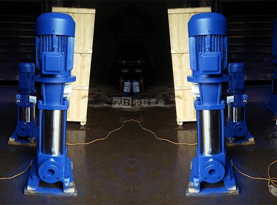 DLR型立式管道熱水多級泵