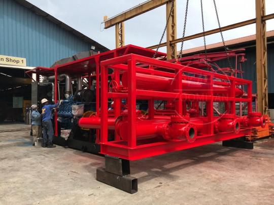 多级柴油机水泵机组