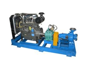 柴油機單級水泵機組