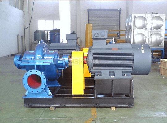 SAP型单级双吸水平中开泵