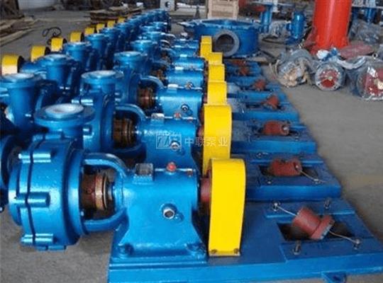 UHB型化工耐腐蚀砂浆泵