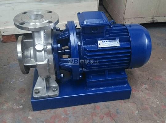 F型卧式不锈钢耐腐蚀化工泵