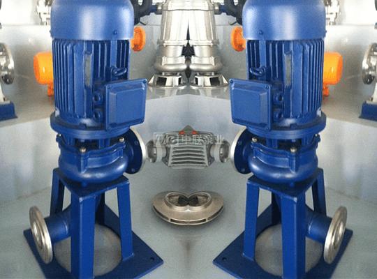 WL/LW型不锈钢立式污水排污泵