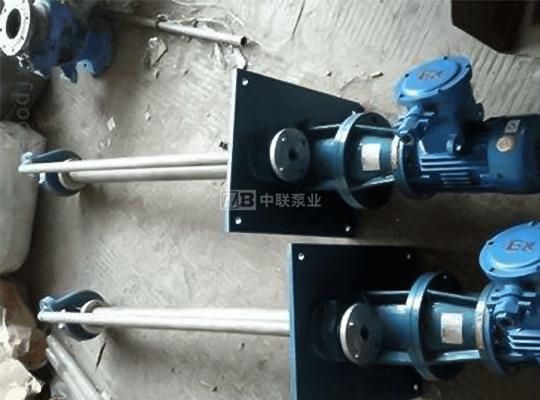 FY型化工液下耐腐蚀污水排污泵
