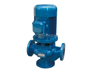 GW型管道式無堵塞排污泵