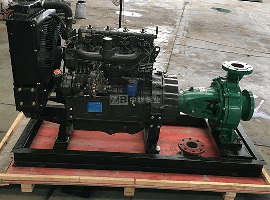管道柴油机泵机组