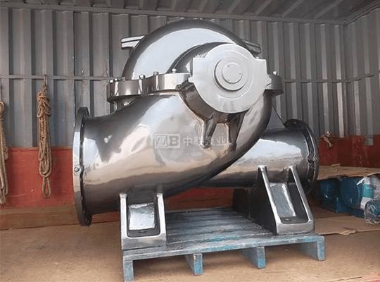 SF型单级双吸耐腐蚀中开泵