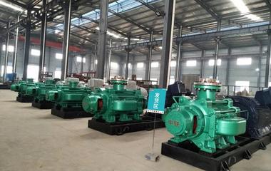 中联泵业矿用耐磨自平衡多级泵开赴织纳矿区