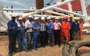 印尼海底输油管道工程验收圆满成功 万达国际娱乐泵业实力担当