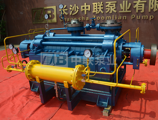DG(P)型自平衡锅炉给水泵带冷却装置