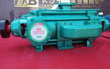 礦用耐磨自平衡多級泵開赴西南織金礦區