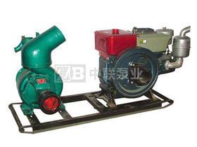 柴油機管道泵機組