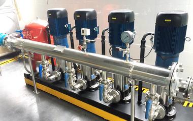 中联泵业数字智慧供水泵组全面通过验收评审