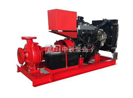 消防用柴油机水泵机组
