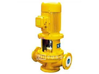 IGF型立式襯氟管道離心泵
