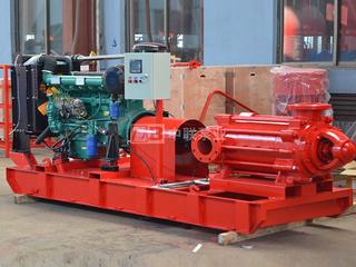 XBD-W型卧式多级消防泵