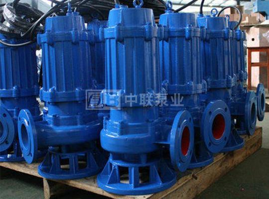 QW型高效无堵塞潜水排污泵