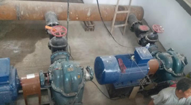 神木市水利建筑工程水利S型卧式单级双吸中开泵