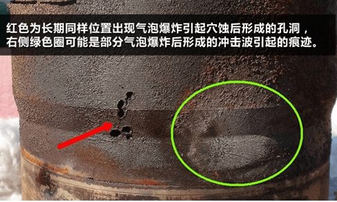 Causes of cavitation of wear-resistant self-balancing centrifugal pumps in underground mines