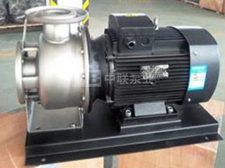 IBG、IBW型卧式不锈钢冲压单级离心泵