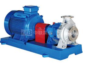 IH型第五代国际标准单级化工流程泵