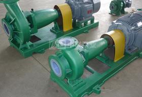 江西省京鹏环保科技定制3台衬氟化工泵