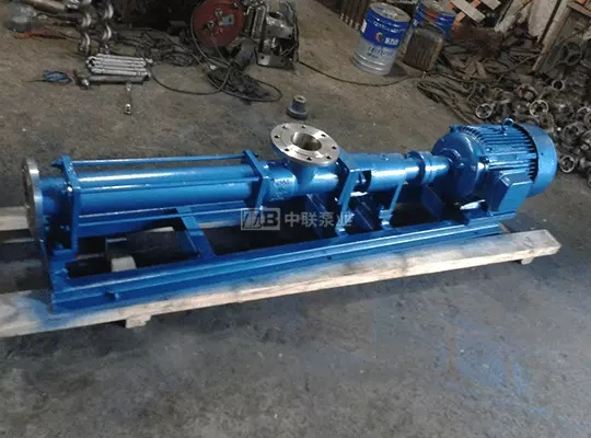 G-type sludge screw pump for sewage treatment plant