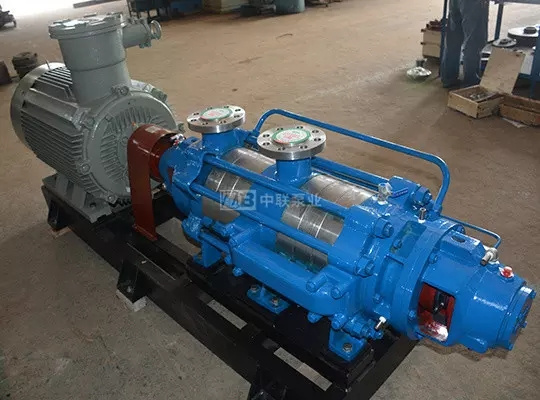 Self-provided DFP multi-stage corrosion-resistant centrifugal pump for sewage treatment plant