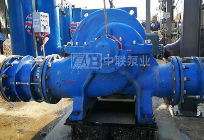 河北某电厂烟囱治理项目浆液冷却系统循环冷却水泵