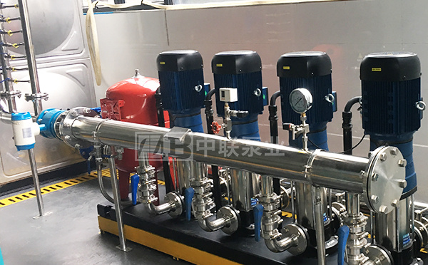 secondary water supply equipment without negative pressure