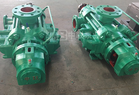 西安合作伙伴再次定制自平衡矿用多级泵