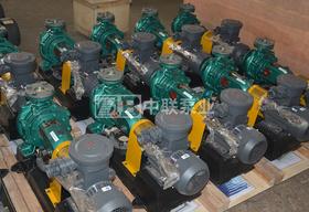 平煤神馬建工集團一次性訂購10臺IS防爆單級離心泵
