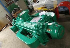 个人洗沙厂一台MDP120-50×9卧式多级离心泵