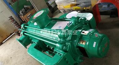 個人洗沙廠一臺MDP120-50×9臥式多級離心泵