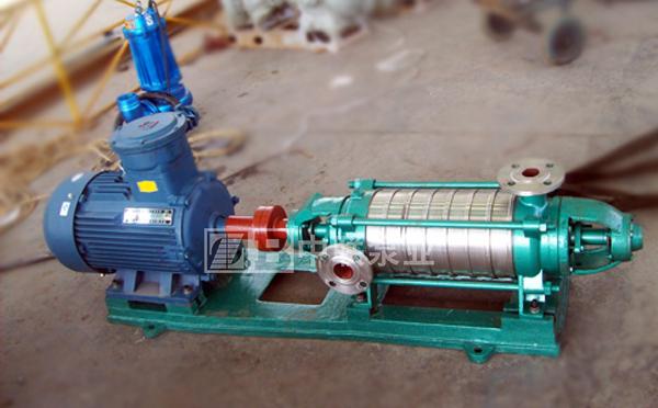 河南大有能源兩臺DF155-30×6耐腐耐磨多級離心泵