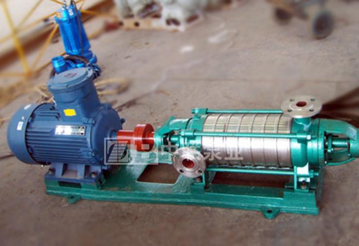 河南大有能源两台DF155-30×6耐腐耐磨多级离心泵