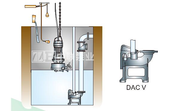 潜水排污泵安装方式