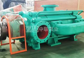 江西贛州螢石礦3臺流量60m3/h85-45x4礦用多級離心泵