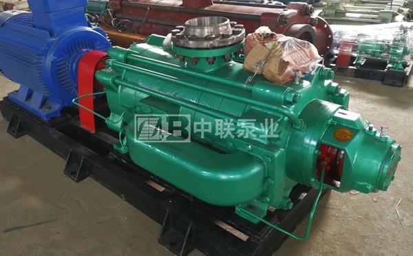 广卅中间商给业主配套2台DF85-80x8P海水泵