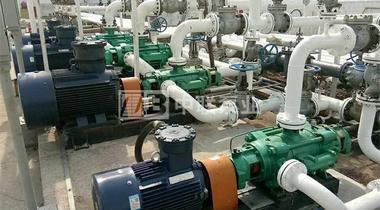 广州某环保科技公司采购DFP型调节池提升泵