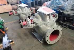 华安机电设备公司采购中开双吸泵1台