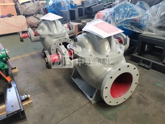 SH型卧式单级大流量双吸中开泵