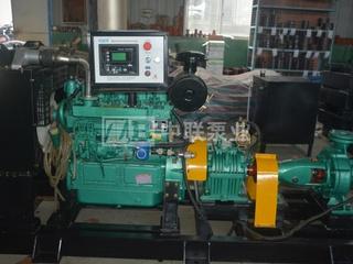 单级柴油机水泵机组