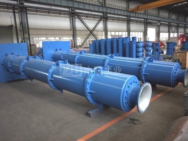 印尼某钢厂使用大型长轴泵4台