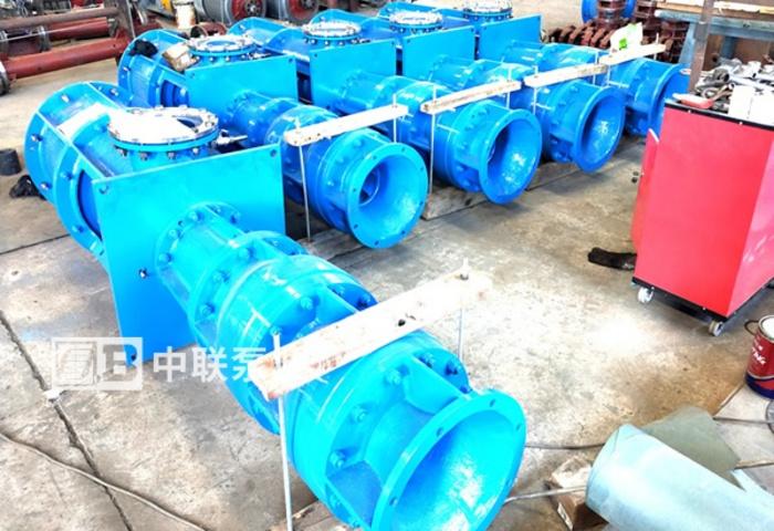 扬州某有色金属公司直采2台长轴泵