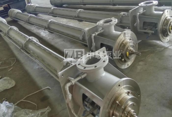 河北某冶金集团采购一批长轴泵