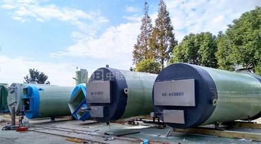 天津某科技股份有限公司购买3台一体化污水提升泵站